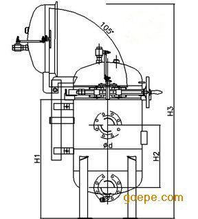 多袋过滤器,快开式过滤器除具有共同的结构特点外