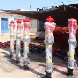 供应厂家定做加高防撞防冻调压消火栓