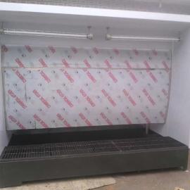 山东厂家供应净化设备 水帘机 水帘柜 喷漆台