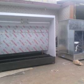 净化设备水帘喷漆台 无泵水帘机 水帘喷漆台水帘柜