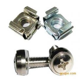 全不锈钢卡式螺母M6,卡母,方母,四方卡式螺母参数