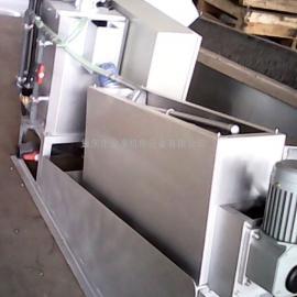 云南DLTS叠螺式污泥脱水机,不锈钢机体