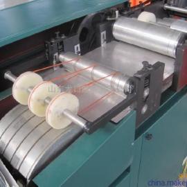 针孔透气葡萄纸袋机 大规格葡萄果袋机设备 生产单层葡萄袋机器