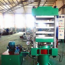 导热油加热柱式四层硫化机150吨