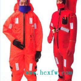 绝热型浸水保温服,保温救生服,救生保温服