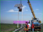 稳定的太阳能风光互补太阳能监控发电设备,绿色环保不断电