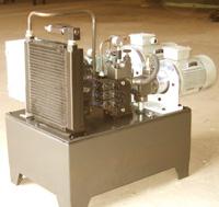 吹瓶机透明线螺杆液压站液压系统