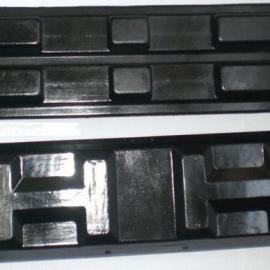 供应沃尔沃EC55/380宽挖掘机橡胶履带块