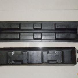 供应玉柴YC55-400长小挖机橡胶履带板