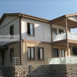 轻钢别墅绿色环保,轻钢别墅设计美观大方,单层轻钢小别墅价格美