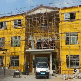 轻钢别墅设计,轻钢木屋集成装修无甲醛,装配式别墅造价