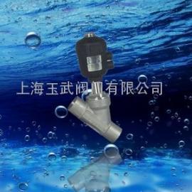塑料头气动焊接式角座阀 DN15 气动角座阀