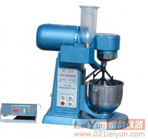水泥胶砂搅拌机,最新标准JJ-5水泥软练试模/搅拌机