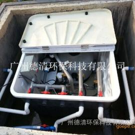 地埋式一体化过滤系统,地埋式污水处理设备