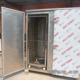 供应豪华双门一拖二大型蒸房 蒸馒头设备 蒸馒头蒸箱
