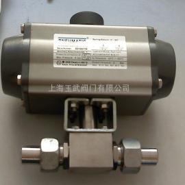 不锈钢气动高压球阀Q661N-350P