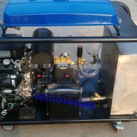 专业清洗地沟油高压疏通清洗机