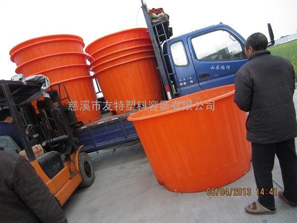 广东厂家直销2吨防腐叉车桶,大口化工叉车圆桶批发,滚塑加工