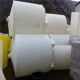 友特新推荐6吨尖底水箱,锥底6吨加药桶,防腐锥底6吨药剂桶
