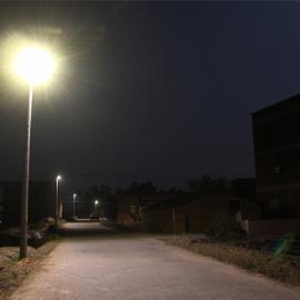 乡村道路专用锂电池太阳能路灯12W