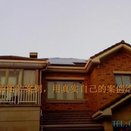 太阳能光伏发电11KW家用个人发电系统安装