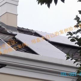 太阳能发电安装别墅个人业主