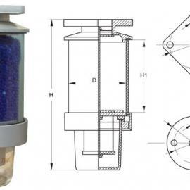 恒鑫电力变压器吸湿器【硅胶罐】呼吸器【硅胶吸湿器】