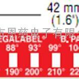 美国 不可逆测温纸8MB-100/38温度试纸 变色测温纸
