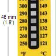 TL-8-250测温纸 美国进口温度纸 不可逆测温贴片