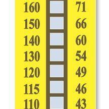 美国OMEGA 测温纸TL-10-390不可逆测温贴片