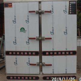 供应不锈钢双门24盘蒸饭车蒸箱 蒸馒头海鲜 蒸米饭柜