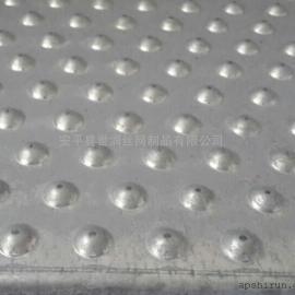 圆孔防滑板 起凸防滑板 镀锌防滑踏板 安平世润防滑板厂