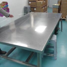长安电子厂不锈钢工作台  长安净化车间不锈钢工作台