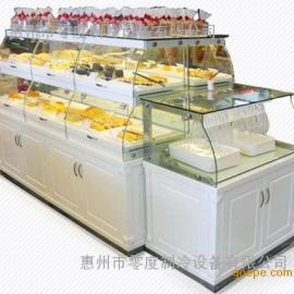 定制蛋糕店展柜展示柜面包柜展示架面包店中岛柜蛋糕柜台蛋糕模型