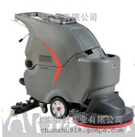 高美电动洗地机GM50B 超市物业商场专用手推式洗地机
