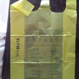 武汉背心垃圾袋,专业医疗垃圾袋,42*48塑料包装袋,垃圾袋