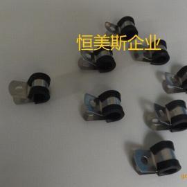 不锈钢喉箍电线卡抱箍管卡管箍不锈钢抱箍条抱箍支架扣环