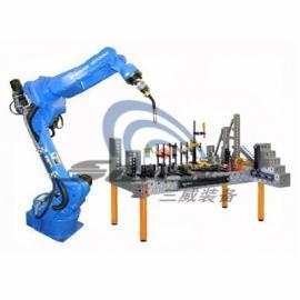 三维柔性组合焊接工装夹具在中高端市场的应用