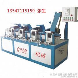 砂光机 多工位圆管自动砂研机