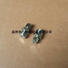 供应不锈钢气路转接头1/2NPT转接6MM钢管(卡套接头)