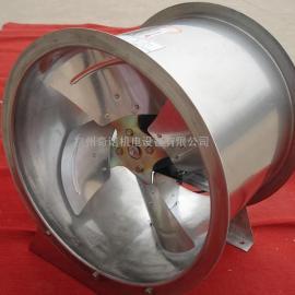厂家促销SFG4-4耐高温304不锈钢防腐管道式轴流通风机