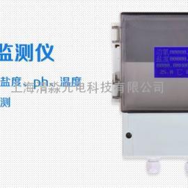 多参数 氨氮(份子氨、标记原子铵)、消融氧、ph、盐度、温度在线监