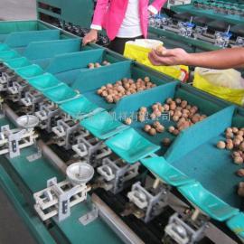机械称重土豆分选机,重量分选土豆大小选果机,土豆重量分选机