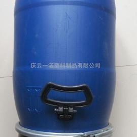 30升塑料抱箍桶蓝色化工桶