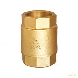 安易买|AMICO|410系列黄铜丝口立式止回阀
