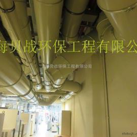 德标模块化管道系统 德标碳钢喷塑风管 喷塑德标抱箍卡箍