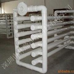 水景喷泉循环水处理专业消毒设备:管道式pvc紫外线杀菌器