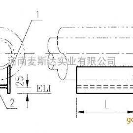 H型管托(焊接型)型号J5