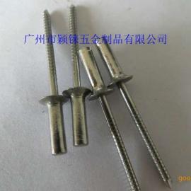 广东封闭型沉头抽芯铆钉,防水型沉头铆钉拉铆钉