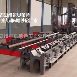 石油钻杆生产专用设备  抽油杆抛丸机